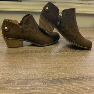 Dr. Scholls brown booties